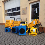 Trocknungsgeräte von judry.de - für Wasserschadenbeseitigung, und schnelle Bautocknung