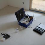 Feuchtigkeitsmessung der Bausubstanz